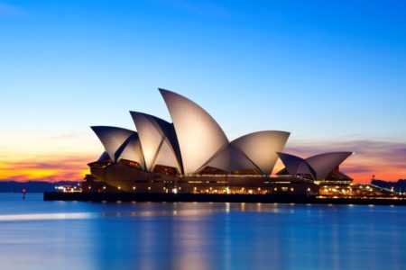 Opera House, em Sidney, na Austrália