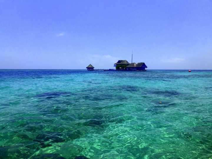 Vista da Isla Del Rosário