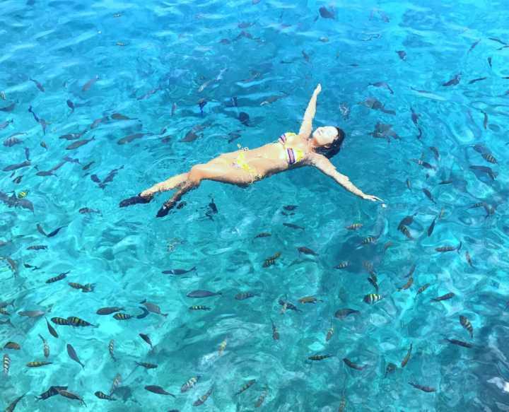 La Piscinita, região tem piscinas naturais bem profundas