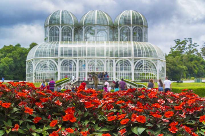 melhores locais de parada SP Curitiba Jardim Botânico