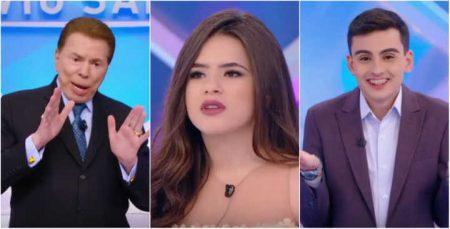 Silvio Santos  oferece  Maisa para Dudu Camargo, mas ela reagiu 2e93a4b9b8