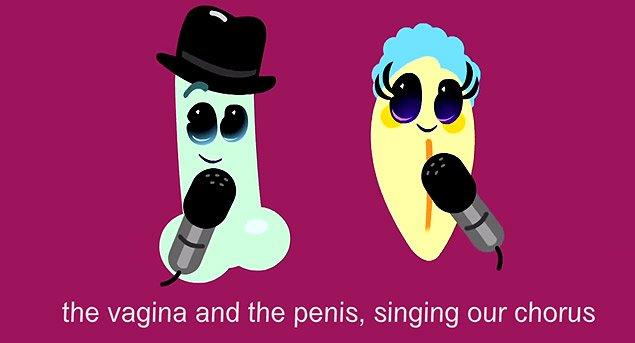 desen animat despre penis