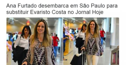 Internautas não estão sabendo lidar com saída de Evaristo Costa
