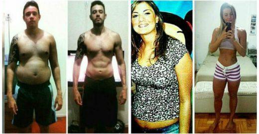 Cinco pessoas que transformaram seus corpos de forma saudável