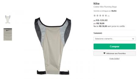 Produtos da Nike tem até 70% OFF em loja virtual 6d2038b4fcc