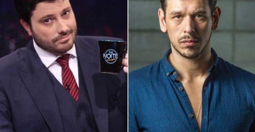 Danilo Gentili defende Silvio Santos da crítica de João Vicente
