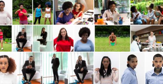 'Mulheres invisíveis': negras, gordas e LBT's no banco de imagens