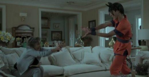 Betty Faria imita Goku na novela e mostra que seria ótima cosplay