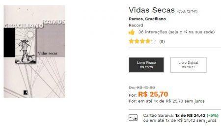 Reprodução/saraiva.com.br