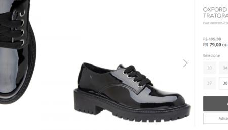 Sapatos e bolsas da Corello tem até 50% OFF em loja virtual 58be7a978ed