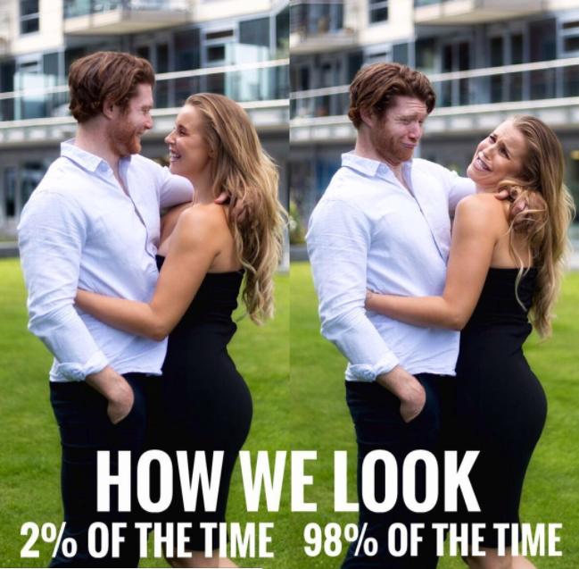 Como parecemos e como somos a maioria do tempo