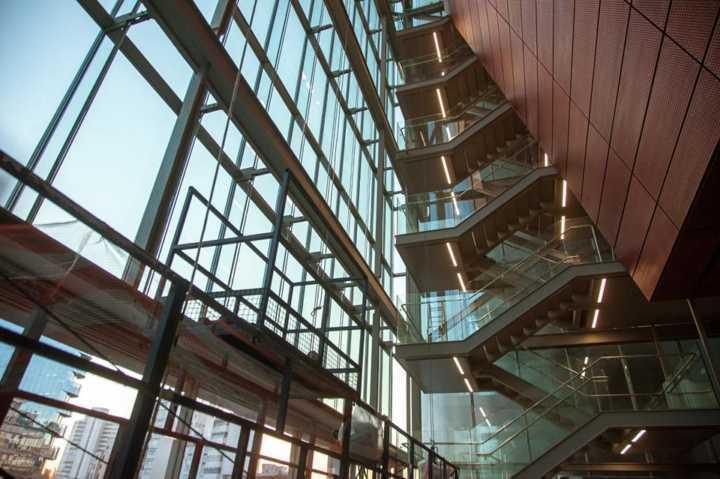 escadarias do IMS Paulista