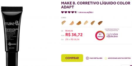 Reprodução/boticario.com.br