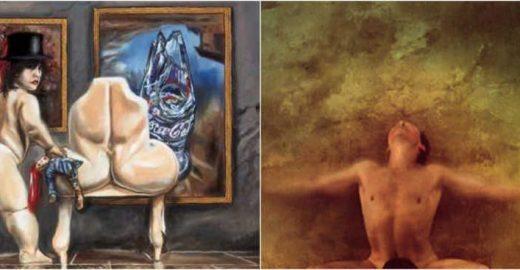 Será que a arte erótica de Jan Saudek seria proibida no Brasil?