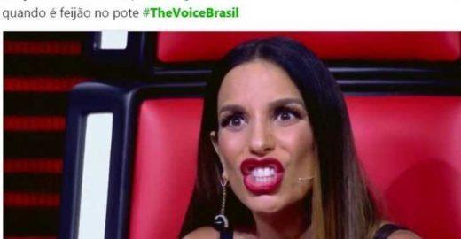 #TheVoiceBrasil: Ivete Sangalo renovou os memes de toda internet