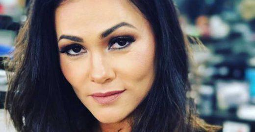 Suzana Alvez, ex-Tiazinha, posta 'antes e depois' em rede social