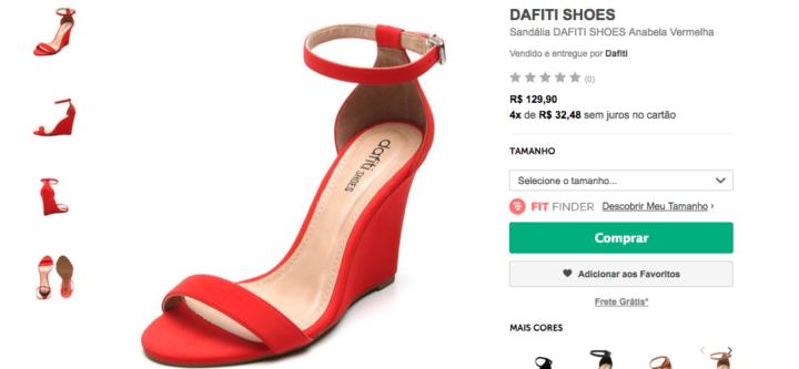 Liquida Dafiti  leve duas sandálias estilosas por R  149 a3fd7033679