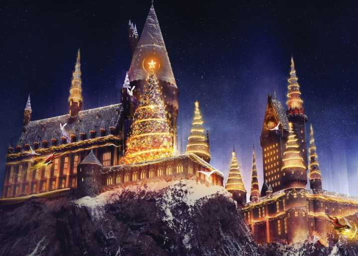 Hogwarts no Universal Orlando terá primeiro Natal do Harry Potter