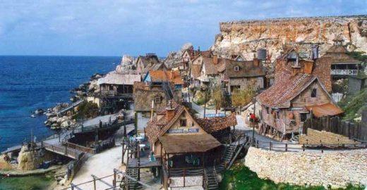 Conheça Sweethaven, a vila do Popeye na Ilha de Malta