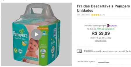 Reprodução/americanas.com.br