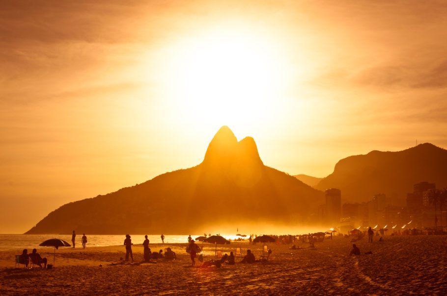 Praia de Ipanema, no Rio de Janeiro