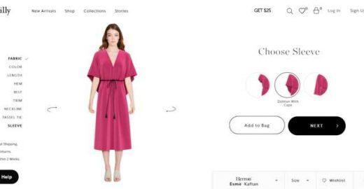 Site para brincar de estilista permite criar suas próprias roupas