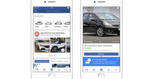 Já pensou em vender seu carro pelo Facebook? Você vai poder logo!
