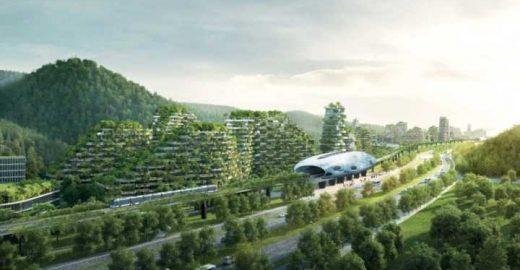Cidade floresta chinesa terá 40 mil árvores e 1 milhão de plantas