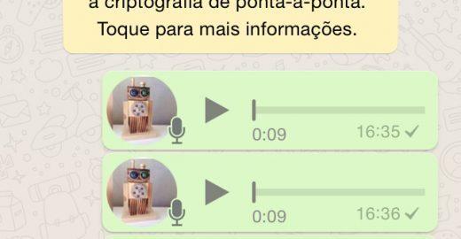 Truque simples evita que o WhatsApp corte seu áudio pela metade