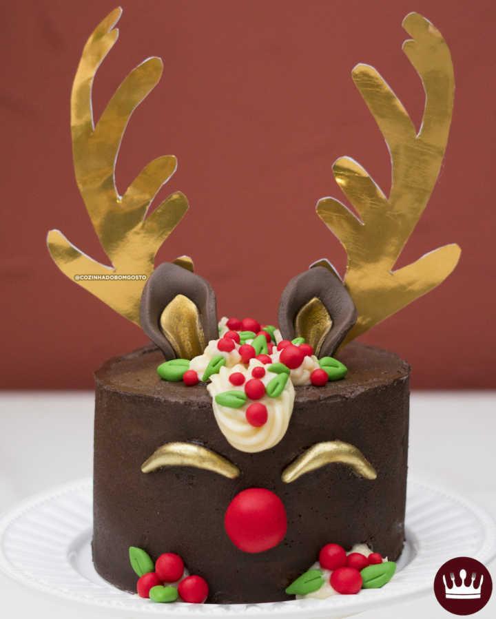 Resultado de imagem para bolo rena