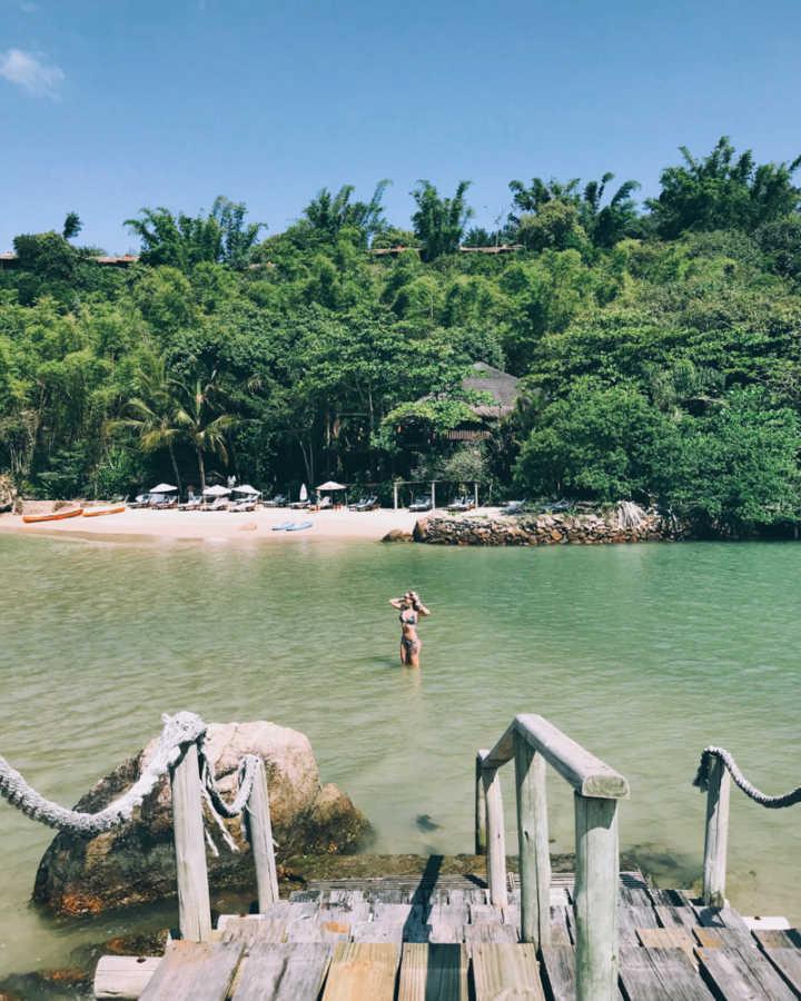 Ponta dos Ganchos, em Santa Catarina