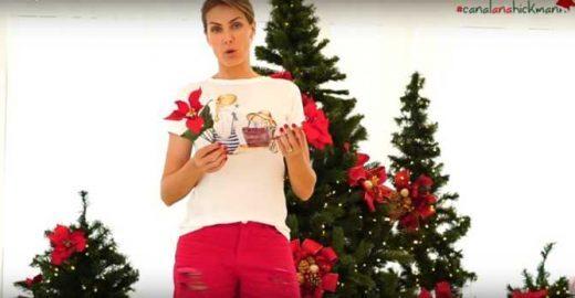 Ana Hickmann decora quatro árvores de Natal em sala gigante
