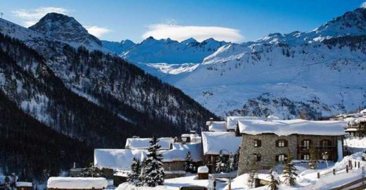 Val d'Isere, uma das mais charmosas estações de esqui da Europa