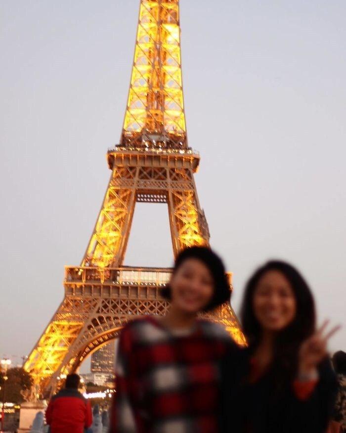 Aí você consegue ir pra Paris, mas estragam aquele registro clássico.