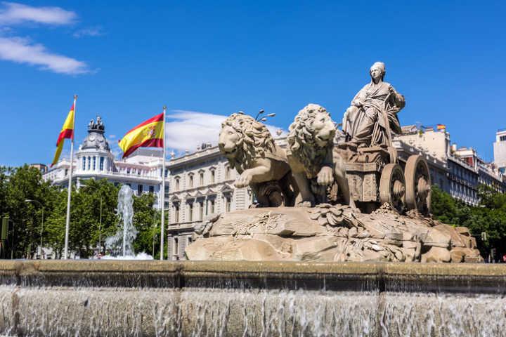 Madrid, capital da Espanha