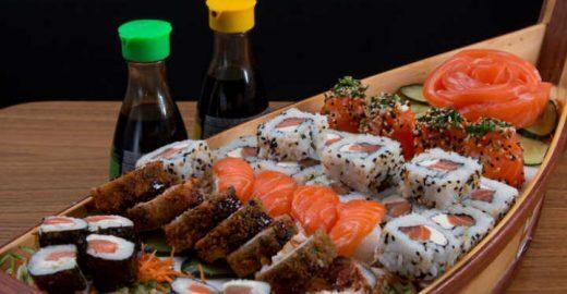 7 cupons para rodízios de comida japonesa com até 39% OFF
