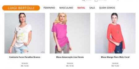 203c37100 Luigi Bertolli tem roupas e sapatos por menos da metade do preço