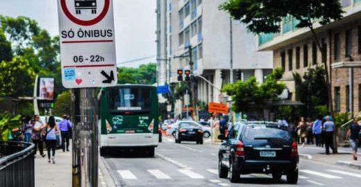 Doria reduz 40% do investimento em corredores e faixas de ônibus