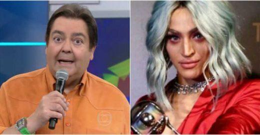 Faustão erra nome de Pabllo Vittar novamente e vira piada na web