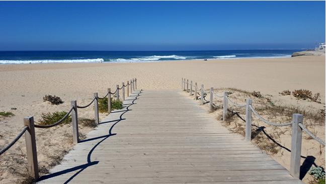 Praia em Lourinhã