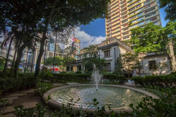 Jardim da Casa das Rosas - São Paulo, Brasil