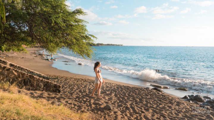 Praia paradisíaca em Maui (Havaí, EUA)