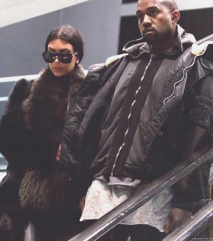 812d130c763a2 Kanye West enviou um e-mail a Kim Kardashian pedindo que ela abandonasse os  maxi-óculos