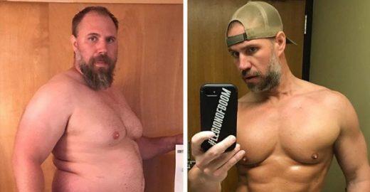Americano revela como transformou o corpo em apenas 6 meses