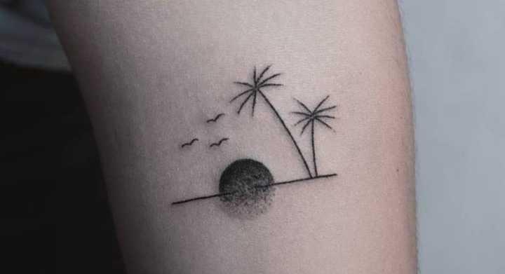 38 Tatuagens De Verão Para Quem Ama Praia Sol E água Fresca