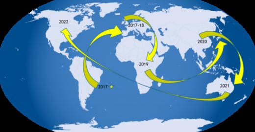 8 passos para começar uma viagem de volta ao mundo