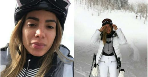 Anitta vai esquiar e pede dicas para as amigas blogueiras
