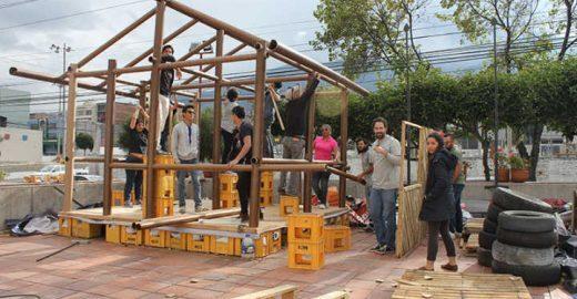 Arquiteto premiado constrói casas para refugiados