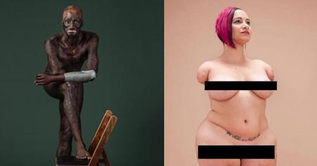 Ensaio nu empoderador mostra a beleza de todos os corpos