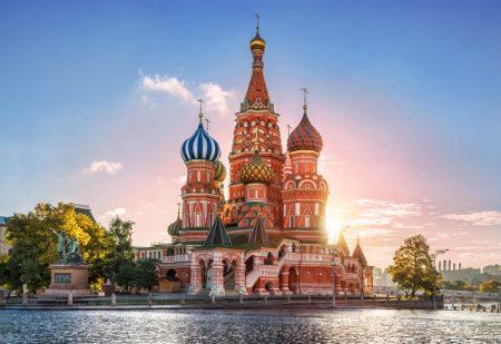 Catedral de São Basílio, Praça Vermelha (Moscou, Rússia)